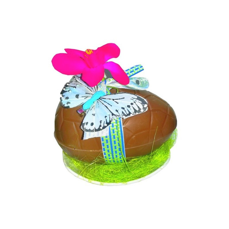 Beautiful Easter egg garnished 650 gr