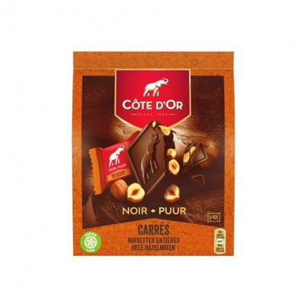 Cote d'Or Bloc dark chocolate hazelnuts 200 gr CHOCKIES