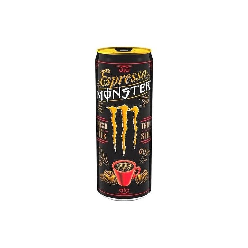 Monster espresso milk triple shot 250 ml