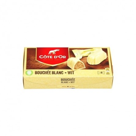 Cote d'Or Bouchee white chocolate 8 x 24,5 gr