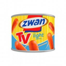 Zwan saucisses tv light 205 gr