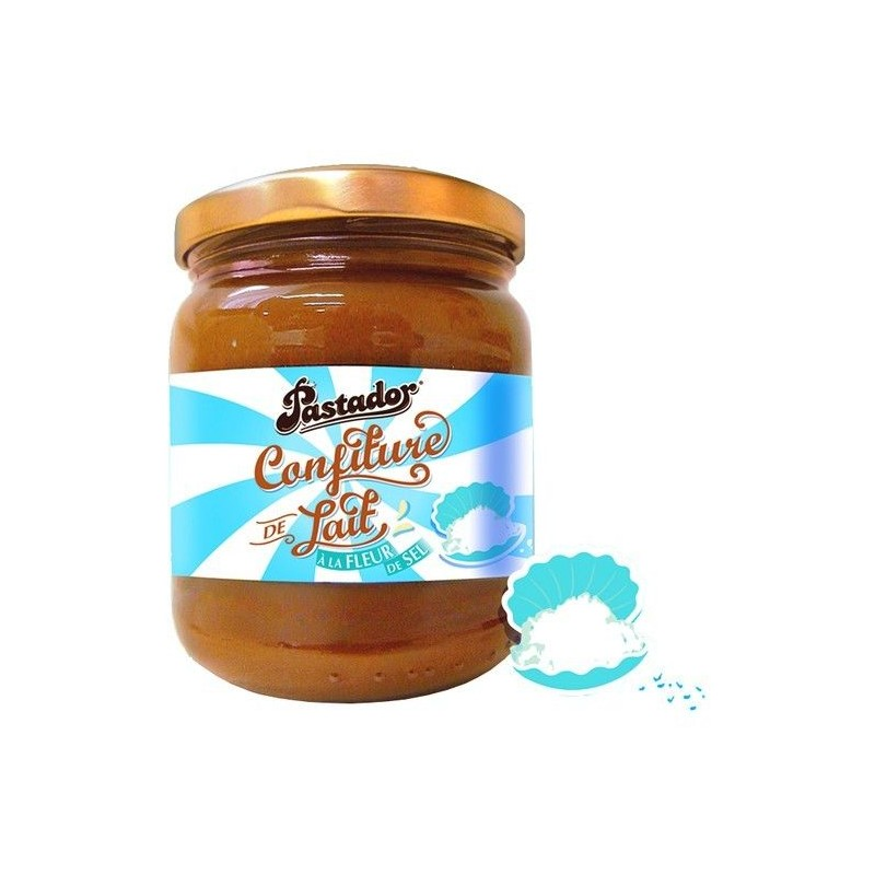 Pastador sea salt milk jam 250 gr