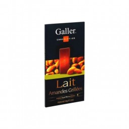 Galler tablette lait amandes grillées 80 gr CHOCKIES