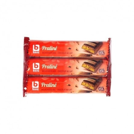 Boni Selection bâtons lait praliné 3x 44 gr CHOCKIES