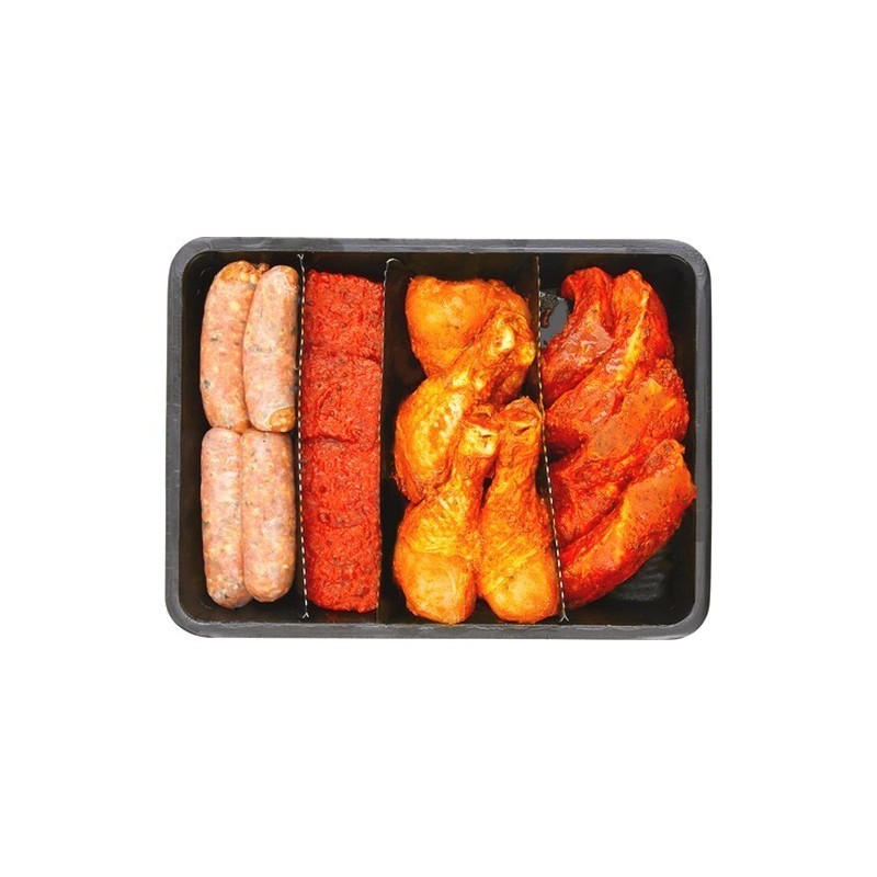 Plateau barbecue 1 (4 pers) +/- 1