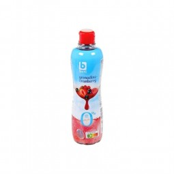 Boni Selection sirop grenadine cranberry 0% sucre 75 cl