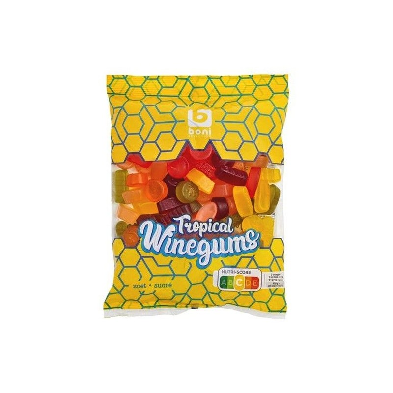 Boni Selection Tropical Winegums 600 gr