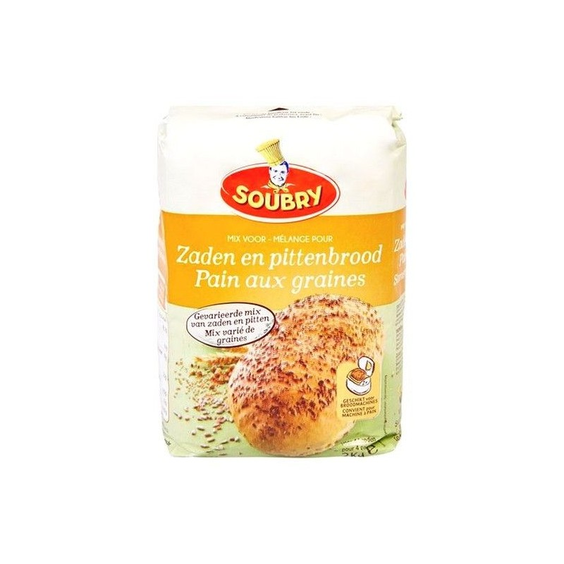Soubry flour mix bread with seeds 2 kg