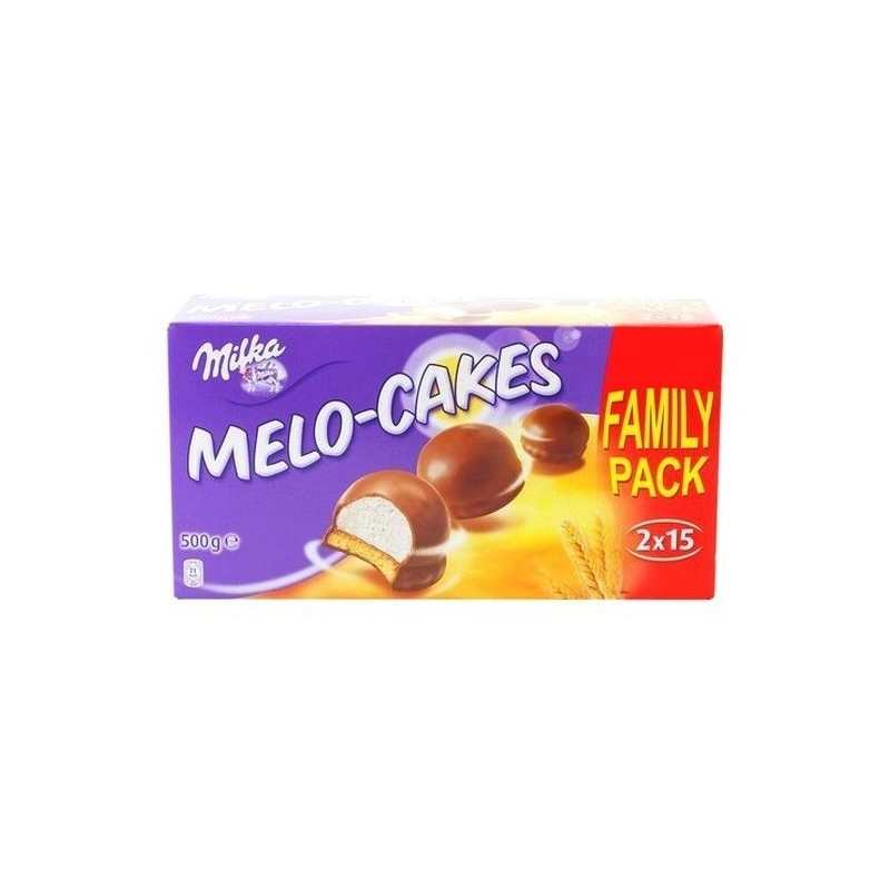 Milka Melo Cakes 30 pieces 500 gr CHOCKIES CHOCOLAT SUISSE