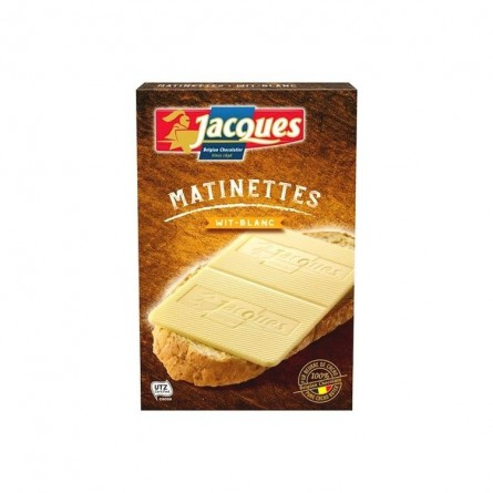Jacques Matinettes white chocolate 128 gr