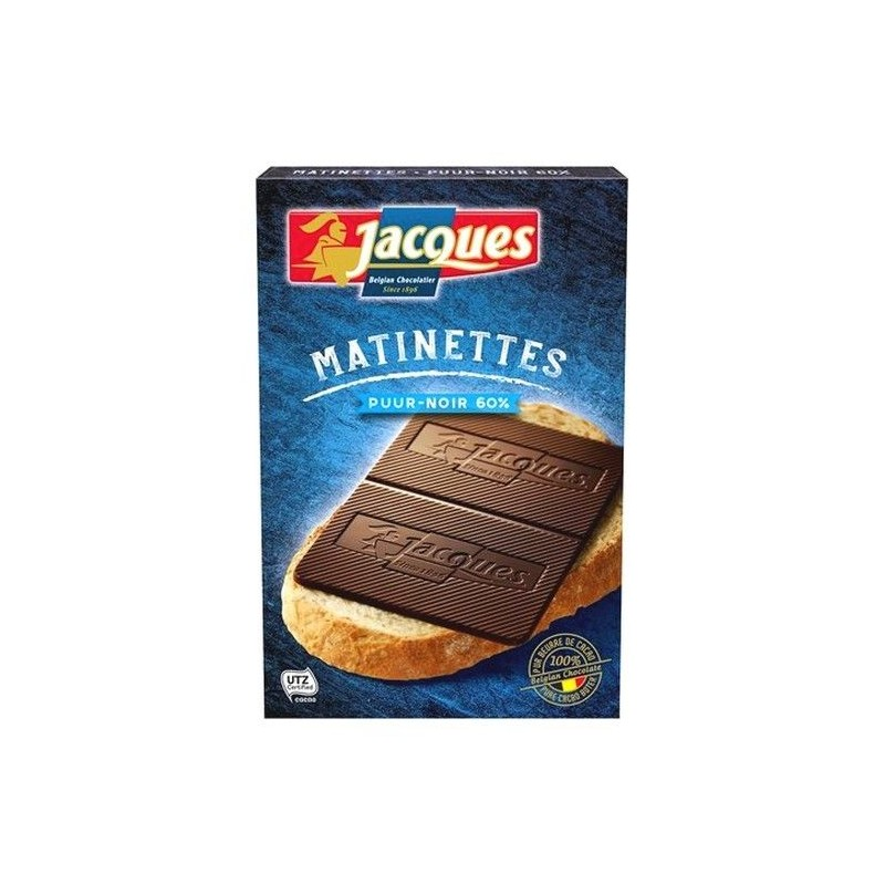 Jacques Matinette 60% dark chocolate 128 gr