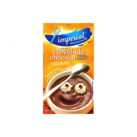 Imperial chocolate pudding powder 6x 50 gr