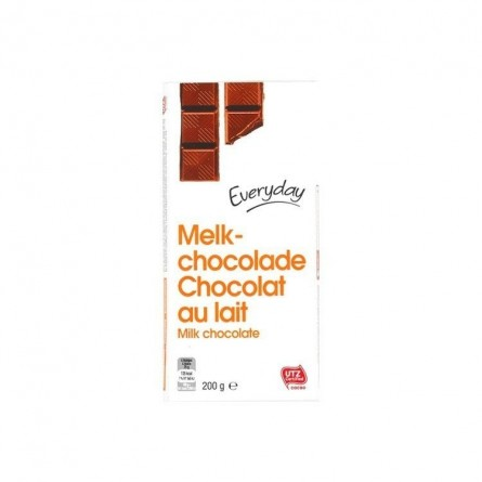 Everyday chocolat Belge au lait 200 gr CHOCKIES