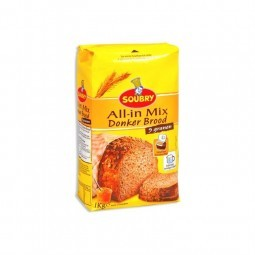 Soubry all in mix flour dark bread 9 cereal 1 kg