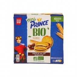 LU mini Prince biscuits BIO 126 gr