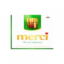 Merci crispy chocolate almond assortment 250 gr CHOCKIE