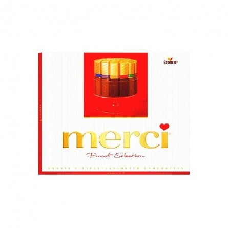 Merci assortiment chocolat 250 gr CHOCKIES GOURMANDISE