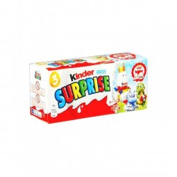 Ferrero Kinder Surprise garçons T3 3x 20 gr CHOCKIES