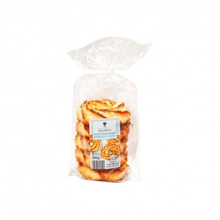 A - Patissier Gaulthier Coconut rings crown 5pc 300 gr