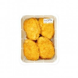 Everyday breaded chicken ham and cheese (cordon bleu) +/- 1 kg