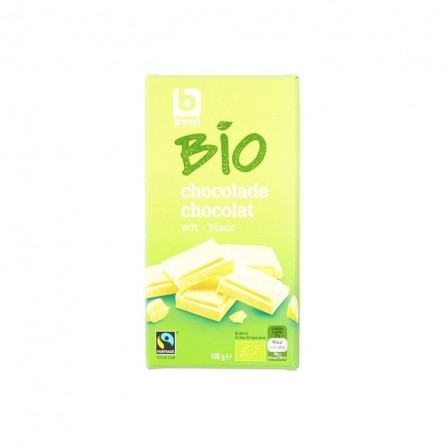 Boni Selection Bio chocolat blanc 100 gr CHOCKIES