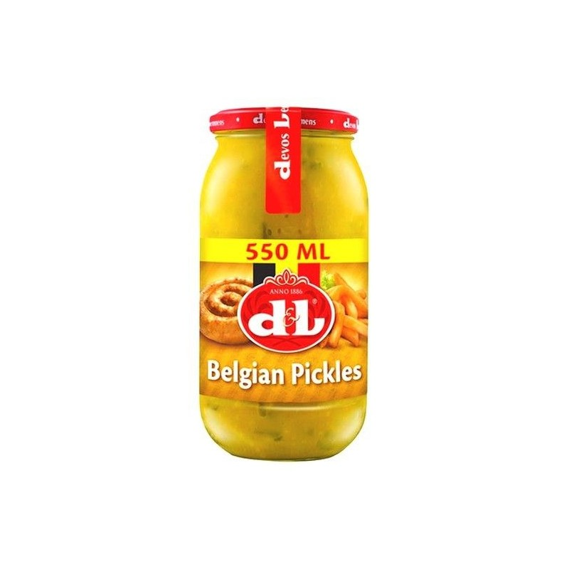 Devos Lemmens belgian pickles 550 ml