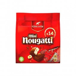 Cote d'Or mini Nougatti 14 pc 180 gr CHOCKIES épicerie