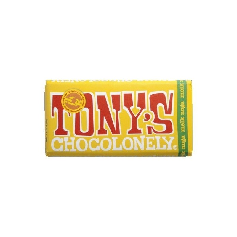 Tony's Chocolonely chocolat lait nougat 180 gr CHOCKIES