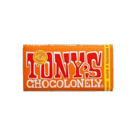 Tony's Chocolonely lait caramel salé 180 gr CHOCKIES