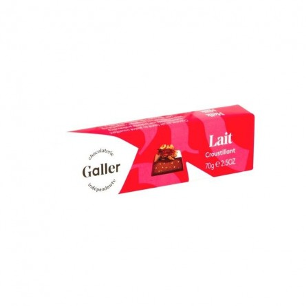 Galler milk chocolate crispy bar 70 gr