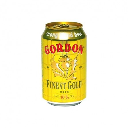 Gordon Finest Gold 10% 33cl - CHOCKIES - bières Belges