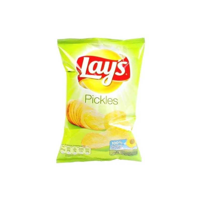 Lay's chips pickles 20x 45 gr EPICERIE BELGE CHOCKIES