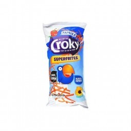 Croky Super frites paprika 150 gr CHOCKIES bbq everyday