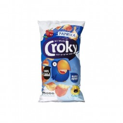 Croky chips paprika 200 gr CHOCKIES lays bbq biscuits