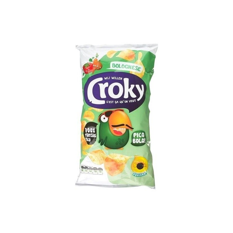 Croky chips bolognese 200 gr CHOCKIES lay smiths