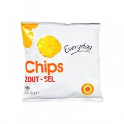 Everyday chips salée 36x 50 gr EPICERIE BELGE CHOCKIES