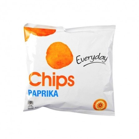 Everyday chips au paprika 36x 50 gr EPICERIE CHOCKIES