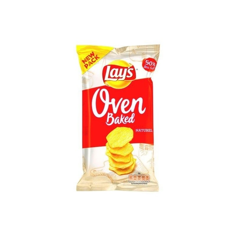 Lay's Oven Baked Naturel 150 gr EPICERIE CHOCKIES