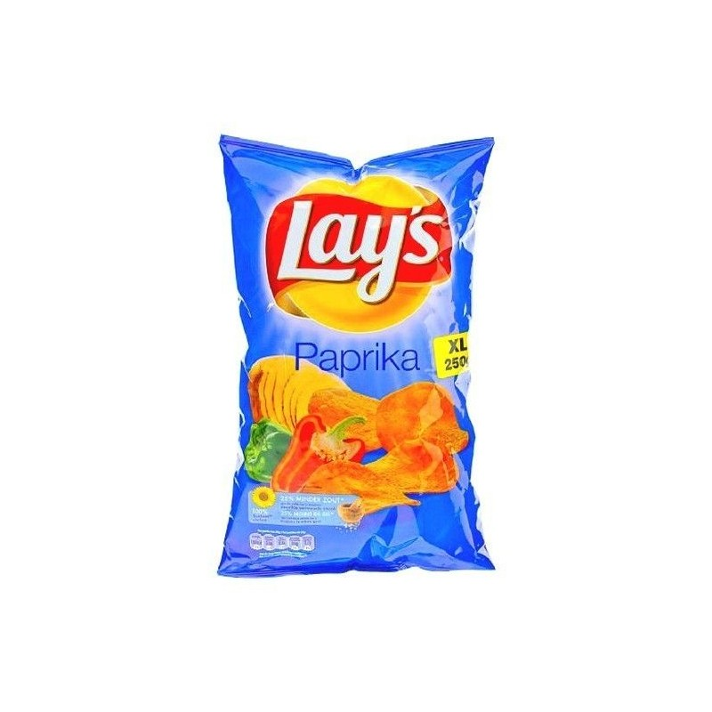 Lay's Chips paprika 250 gr CHOCKIES nacho cheese
