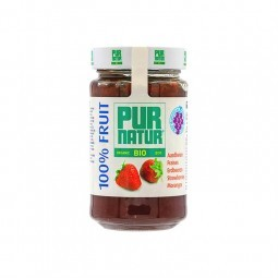 Pur Natur organic strawberry jam without added sugar 250 gr