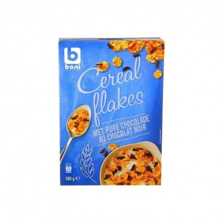 Boni Selection cereal flakes choc. noir 500 gr CHOCKIES