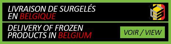 Livraison de surgelés à domicile en Belgique